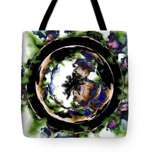 Visions Echo In The Crystal Ball Tote Bag