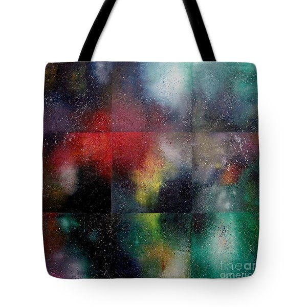 Visions Of Space And Time Tote Bag by Jeremy Aiyadurai