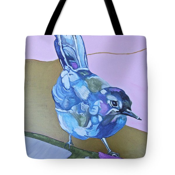 Visiting Wren Tote Bag by Jamie Downs