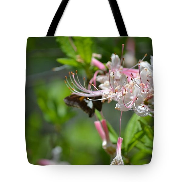 Tote Bag featuring the photograph Visitor by Tara Potts