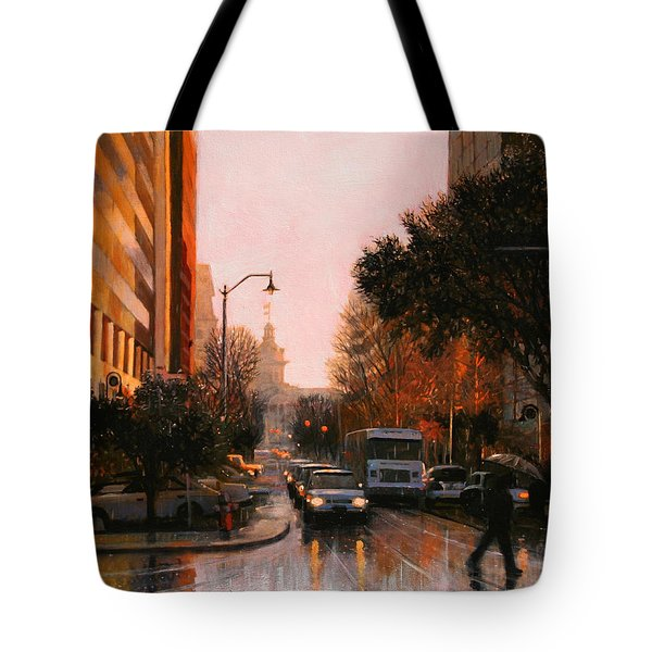 Vista Drizzle Tote Bag by Blue Sky
