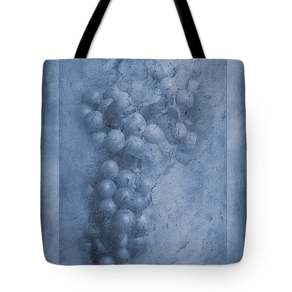 Vitis Cyanotype Tote Bag by John Edwards