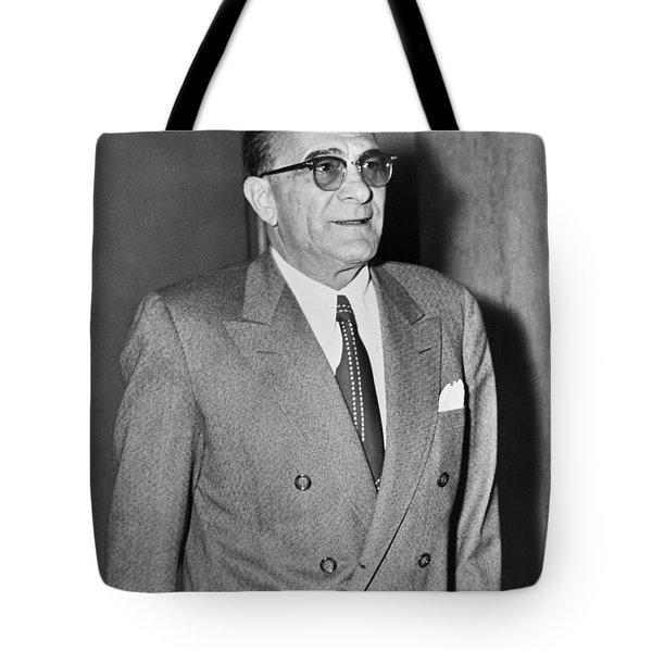 Vito Genovese Tote Bag by Mountain Dreams