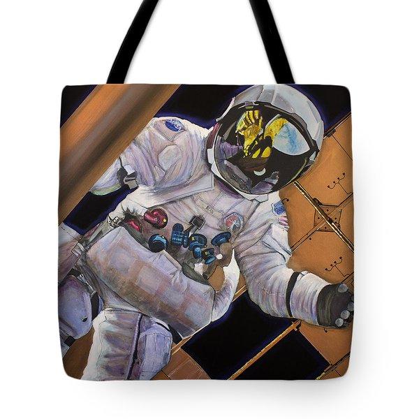 Vitruvian Man- Alan Bean.  Tote Bag