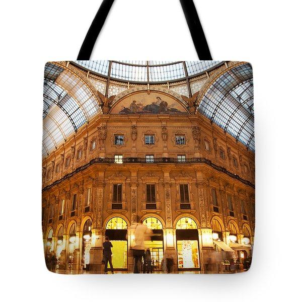 Vittorio Emanuele II Gallery Milan Italy Tote Bag by Michal Bednarek