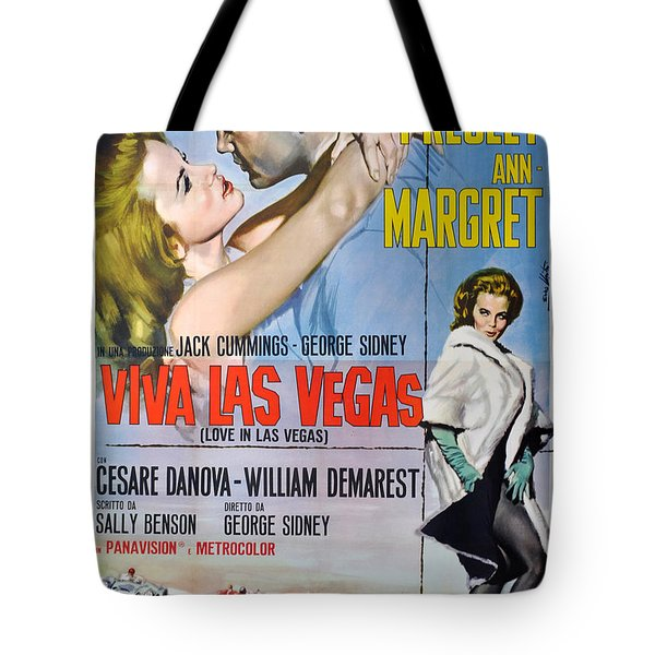 Viva Las Vegas Tote Bag