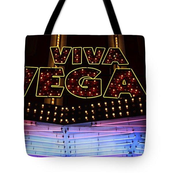 Viva Vegas Neon Tote Bag