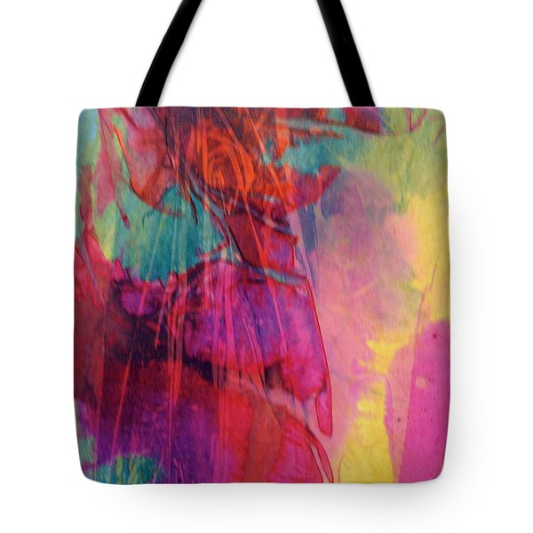 Tote Bag featuring the painting Vivace by Mary Sullivan