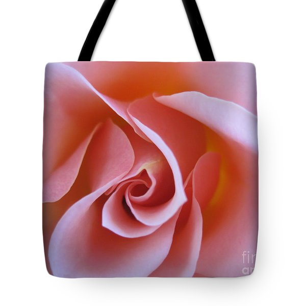 Vivacious Pink Rose Tote Bag