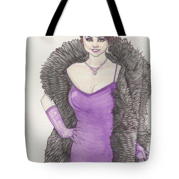 Vivacious Samantha Tote Bag