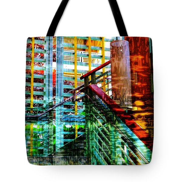 Vivid Existence-no2 Tote Bag by Darla Wood