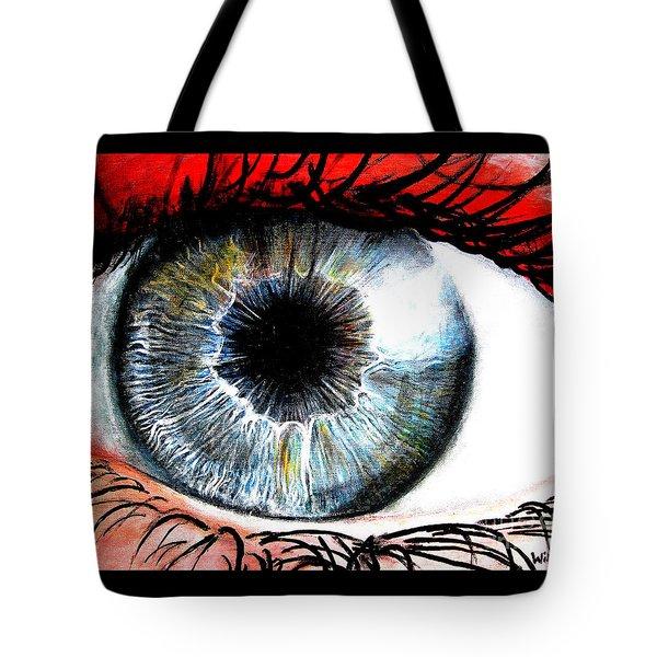 Vivid Vision  Tote Bag by Tylir Wisdom