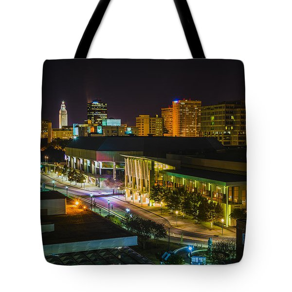 Vividly Downtown Baton Rouge Tote Bag