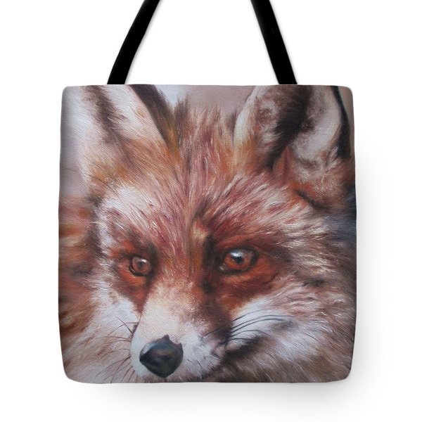 Vixen Tote Bag by Cherise Foster