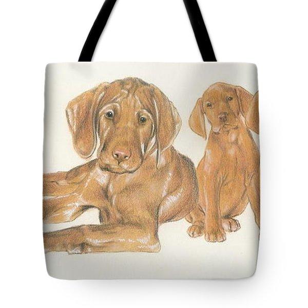 Vizsla Puppies Tote Bag