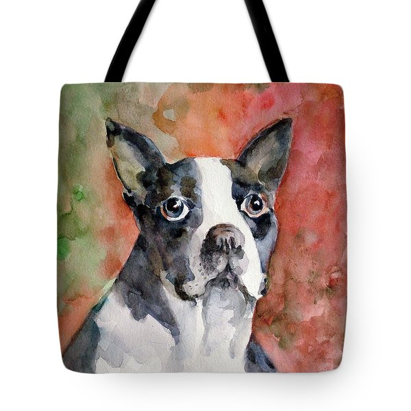 Vodka - French Bulldog Tote Bag by Faruk Koksal