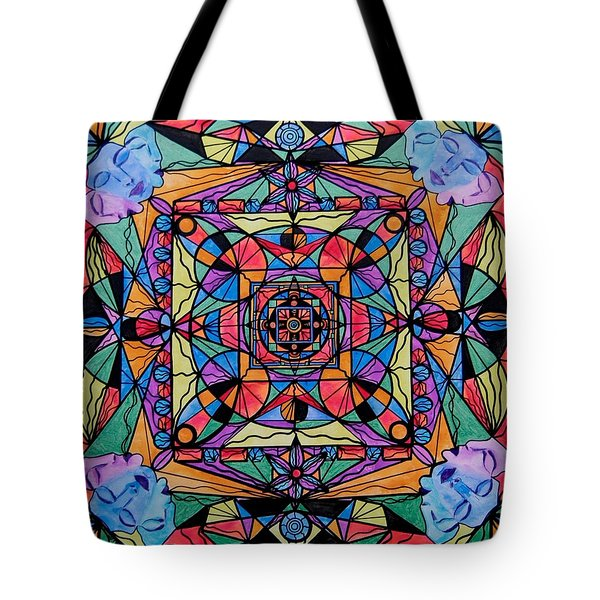 Voice Dialogue The One Tote Bag by Teal Eye  Print Store