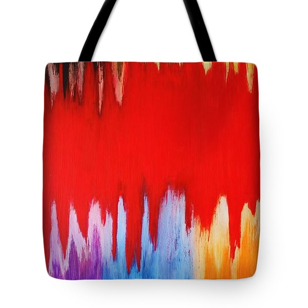 Voice Tote Bag by Michael Cross