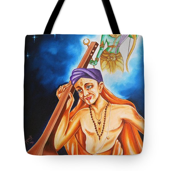 The Song Of Devotion Tote Bag