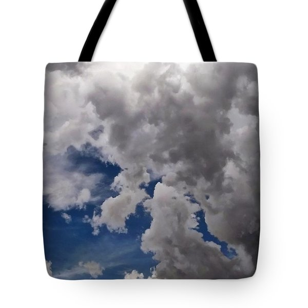 Voices In The Sky Tote Bag by Glenn McCarthy Art and Photography