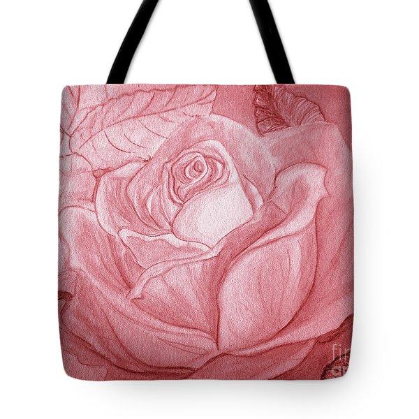 Voir La Vie En Rose Tote Bag