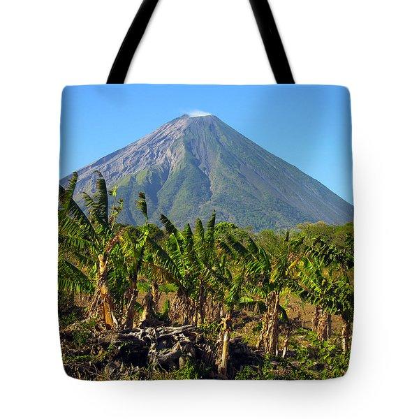 Volcan Concepcion Nicaragua Tote Bag