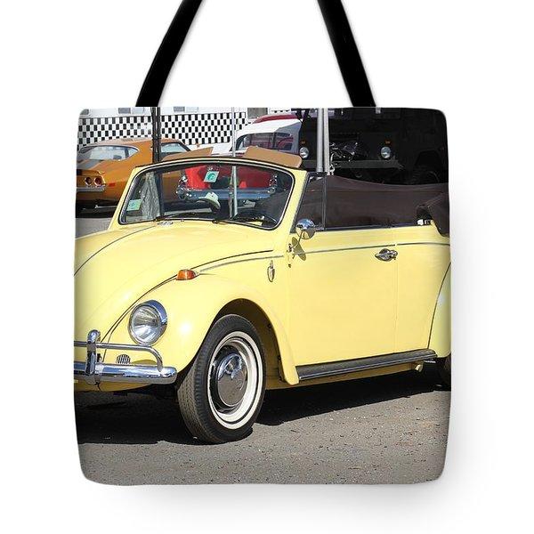 Volkswagen Convertible Vintage Tote Bag