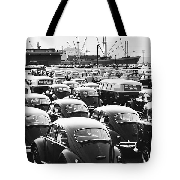 Volkswagen Shipment Tote Bag by M E Warren