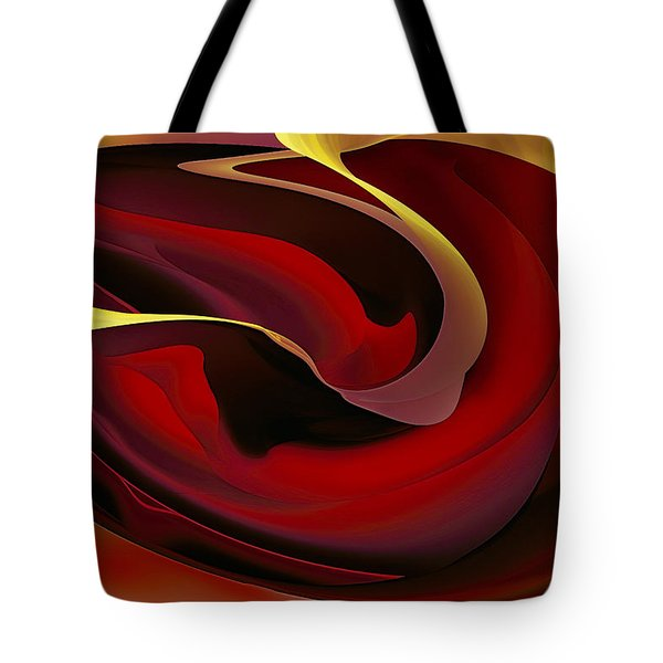 Voluptuous Tote Bag by Diane Dugas