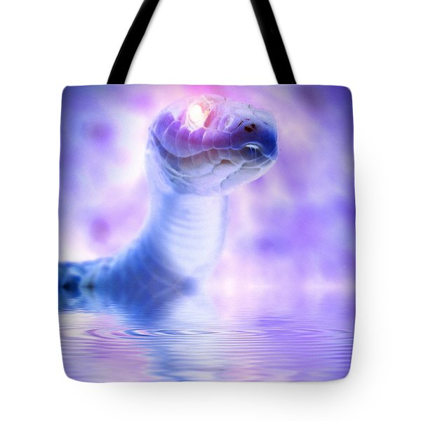 Tote Bag featuring the photograph Voodoo River by WB Johnston
