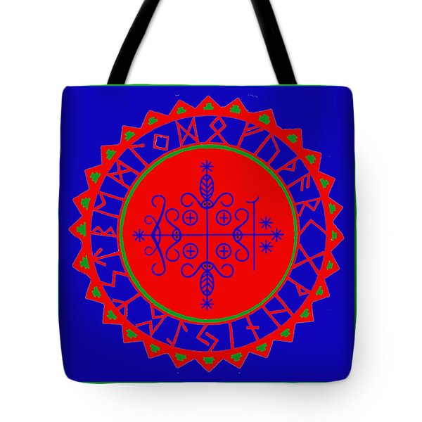 Voodoo Veve  As Above So Below Tote Bag
