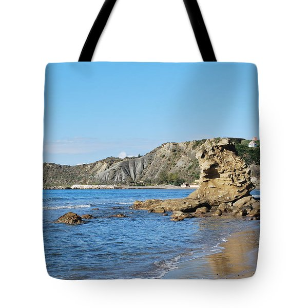 Tote Bag featuring the photograph Vouno 2 by George Katechis