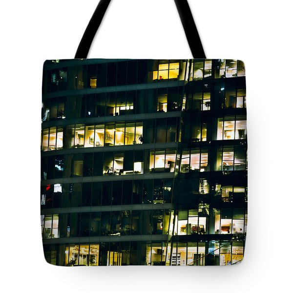 Tote Bag featuring the photograph Voyeuristic Work Cclxvii by Amyn Nasser