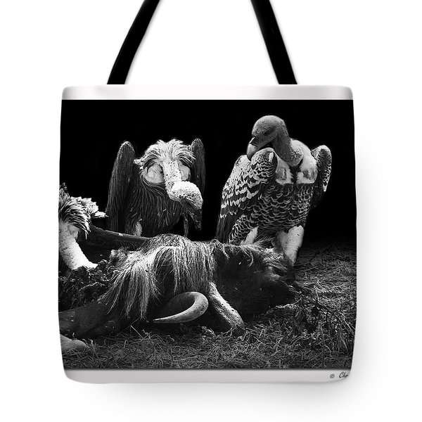 Vulture Tote Bag by Christine Sponchia