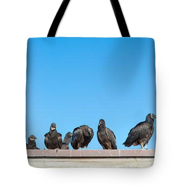 Vultures On Anhinga Trail, Everglades Tote Bag