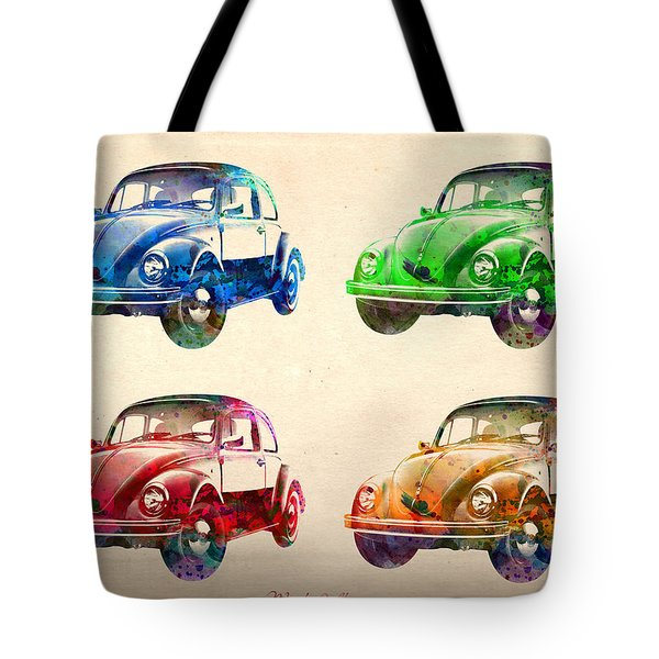 Vw 2 Tote Bag by Mark Ashkenazi