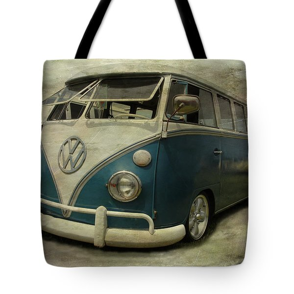 Vw Bus On Display Tote Bag