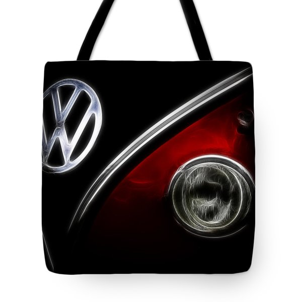 Vw Micro Bus Logo Tote Bag