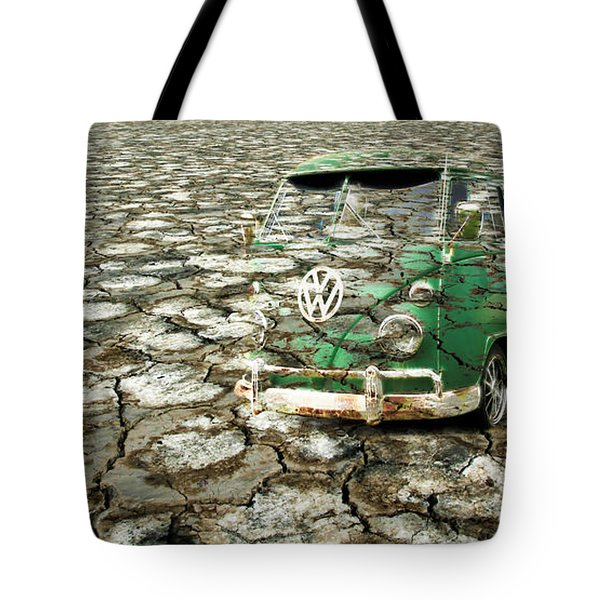 Vw Micro Mirage Tote Bag by Steve McKinzie