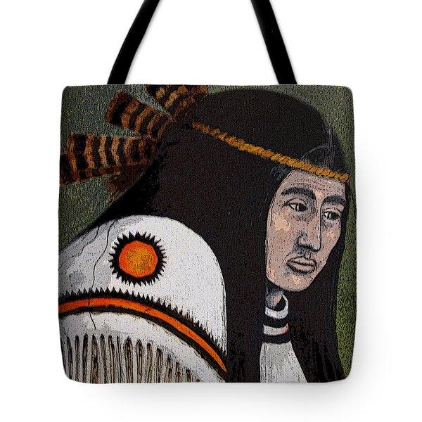 Wabanaki Warrior Tote Bag