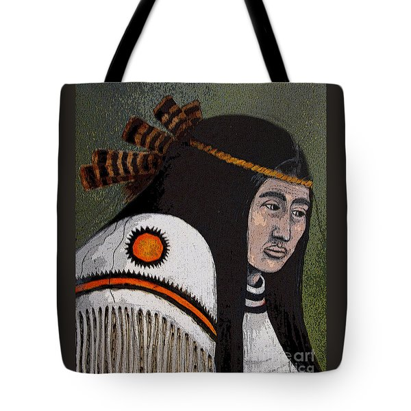 Wabanaki Warrior Tote Bag