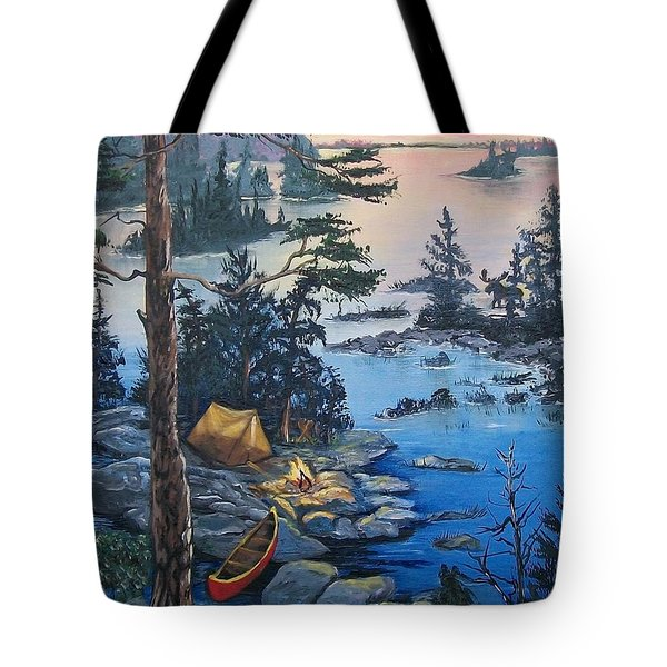 Wabigoon Lake Memories Tote Bag