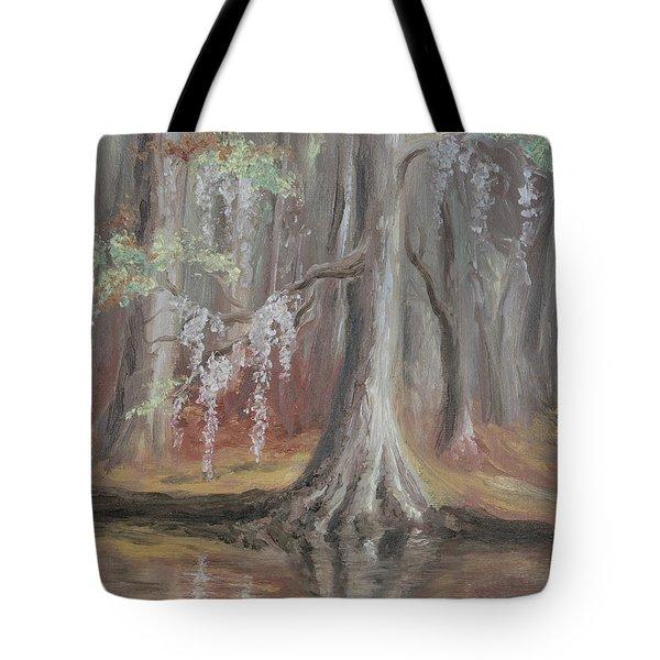 Waccamaw River Cypress Tote Bag