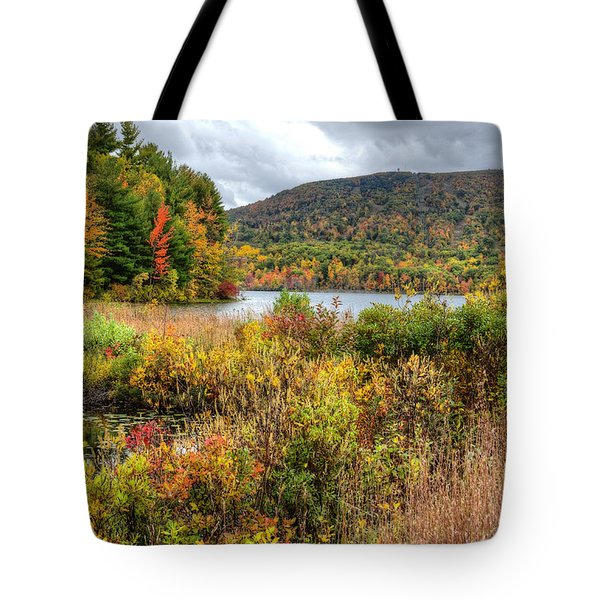 Wachusett Mt. In Autumn Tote Bag