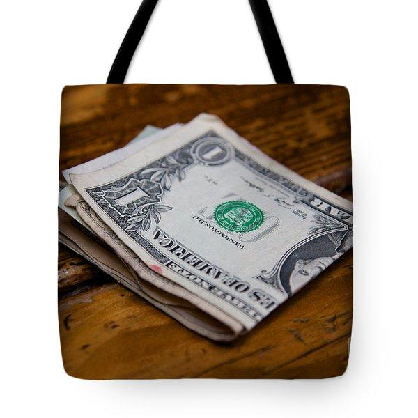 Wad Of Cash Tote Bag