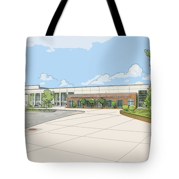Wade Hampton High School Tote Bag