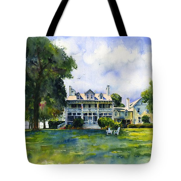 Wades Point Inn Tote Bag