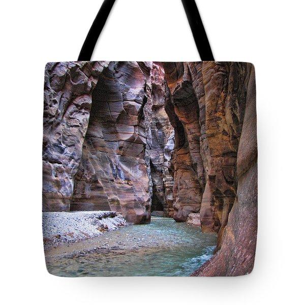 Wadi Mujib Tote Bag