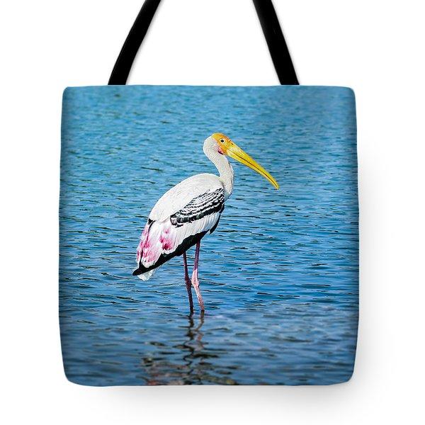 Wading Stork Tote Bag