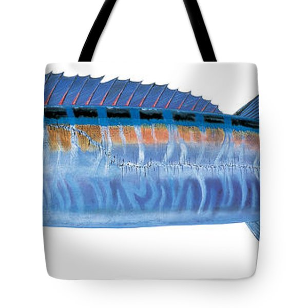 Wahoo Tote Bag by Carey Chen